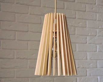 Plywood Lamp Pendant Light Chandelier