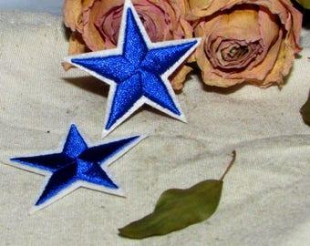Patch embroidered patch etoilex2 fusible applique