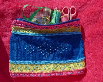 Sewing Bag Knitting kit