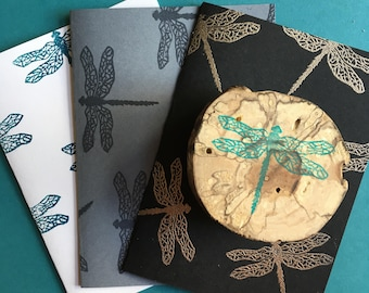 Dragonfly Rubber Stamp (Choose a Size)
