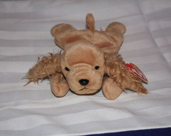 1997 Spunky TY Beanie Baby Original with Tag Errors - Excellent Condition