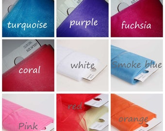 Shimmer Glimmer  Soft Tulle  Net Fabric