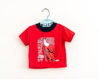 Vintage Chicago Bulls Kids Tshirt