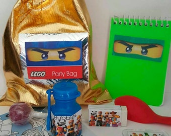 Lego Party bag with 7 great items included