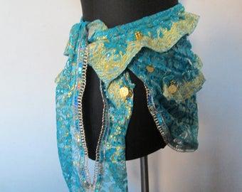 30 - The same belt that MOM in blue veil.