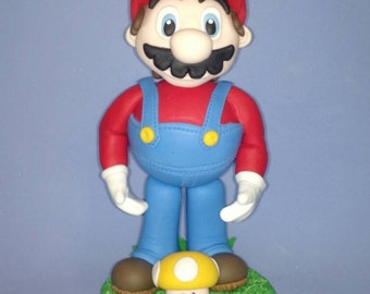 Mario Bros in cold porcelain