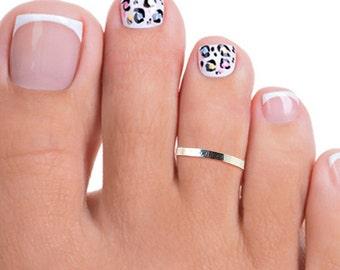 Silver Band Toe Ring, Silver Toe Ring, Thin Silver Toe Ring, Tiny Silver Toe Ring, Thin Toe Ring, Small Toe Ring, Silver Toe Rings, Toe Ring