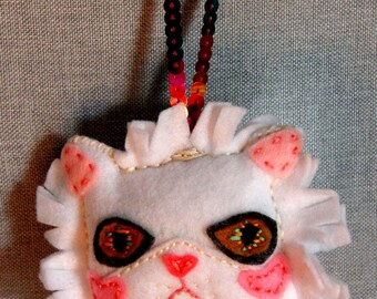 Persian Cat face Ornament