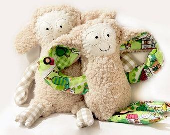 Lamb Sewing Pattern and Instructions, PDF