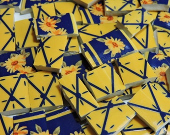 Mosaic Tiles - SuNNY YeLLoW and SuNFLoWeRS - China Mosaic Tiles