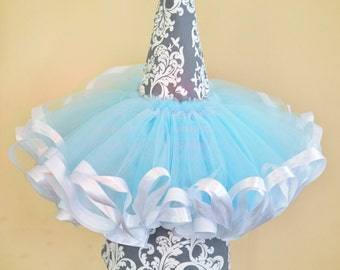 Solid Tulle Tutu with Satin Trim, 6m-5t TUTU ONLY