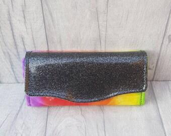 Rainbow Harry Potter inspired purse