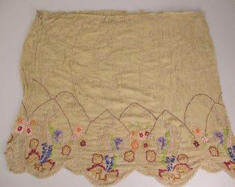 Vintage Twenties Beaded silk Deconstructed Flapper Dress 2 Pieces