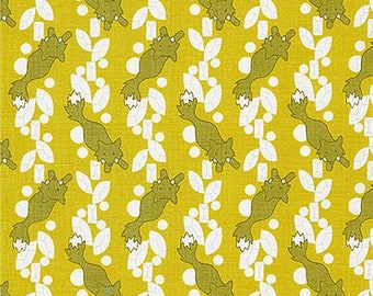 Rhoda Ruth by Elizabeth Hartman for Robert Kaufman Fabrics - 1/2 yard cut - # AZH 15451-268 Nature