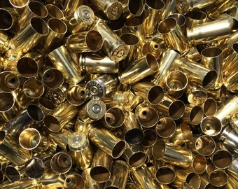40 S&W Once Fired Brass Casings. Dirty or Polished. Perfect for Reloading or Bullet Jewelry. All Mixed Head Stamp.