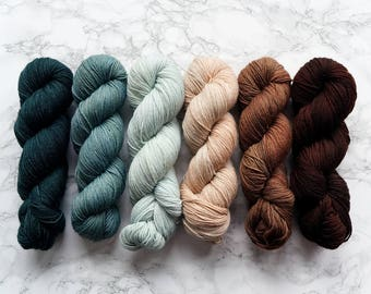 Find Your Fade | What The Fade Kit | Hand Dyed Yarn | Sock Yarn Wool | Gradient Yarn | Gift For Mom | Knitting Mom Gift | PREORDER - Fall