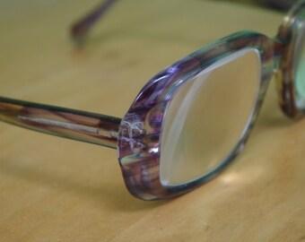 SALE! Fabulous Vintage 1970s Big Plastic Soviet Eyeglasses Frames