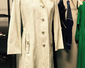 Woodgrain Silk Coat
