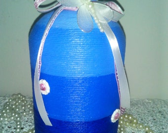 Hand-decorated bottle