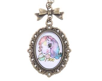 Little Poney Necklace 1825C