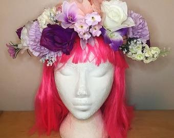 Flower Crown Festival Shells Headband