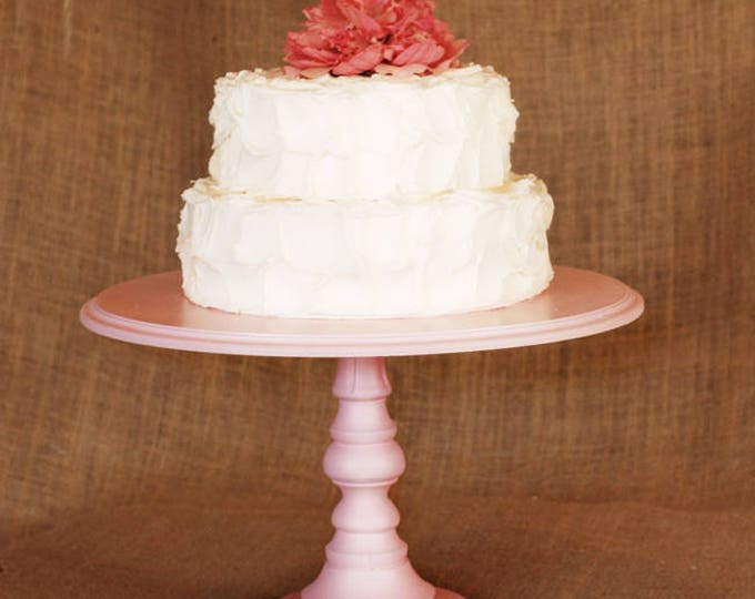 Petal Pink Custom Cake Stand