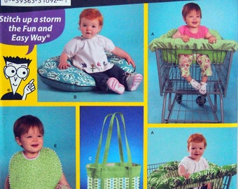 Babies' Accessories Sewing Patterns For Dummies Simplicity 3561 Uncut Sewing Pattern 2007