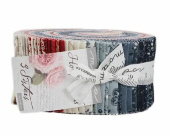 """Holly Woods by 3 Sisters for Moda Jelly Roll 40 - 2.5"""" Strips"""