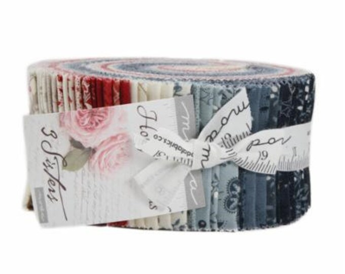 "Holly Woods by 3 Sisters for Moda Jelly Roll 40 - 2.5"" Strips"