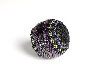 Beaded Ball - Purple Majesty - Sphere