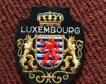 Vintage Luxembourg   patch.