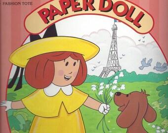 Vintage Madeline Paper Doll Book, 1996