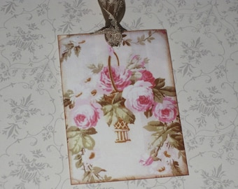Vintage Paris Roses Gift Tags Paris Apartment Ooh La La