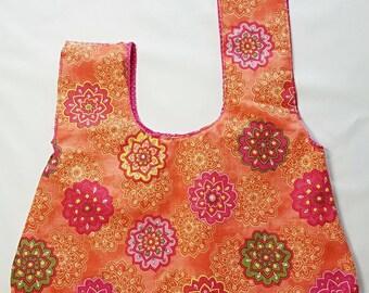 Pink and Orange Handbag