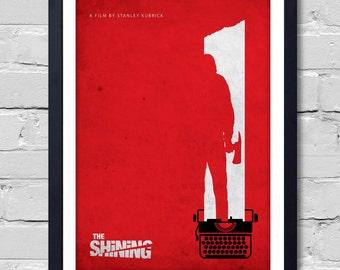 Stanley Kubrick  Minimalist Movie Poster The Shining