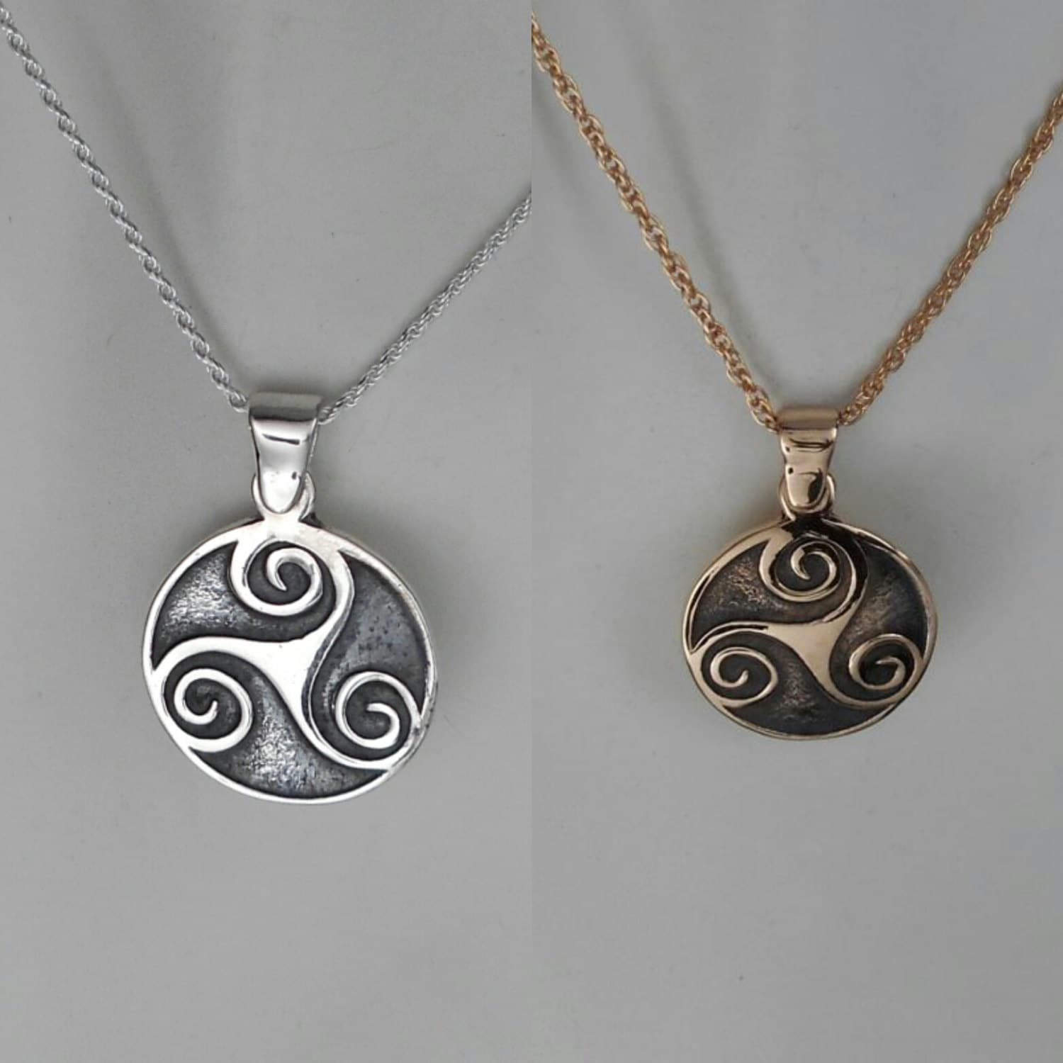 museums shop silver national scotland triskele trisele celtic products pendant
