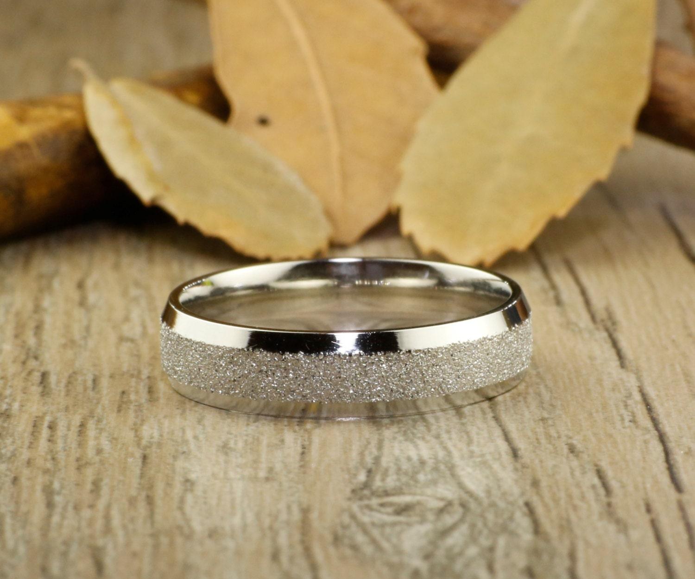 Handmade Wedding Ring Women Ring White Gold Promise Ring