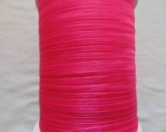 Organza Ribbon, rose madder (O-028)
