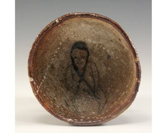 Hand Pinched Wood Fired Bowl by Jenny Mendes - Pippi's Tails
