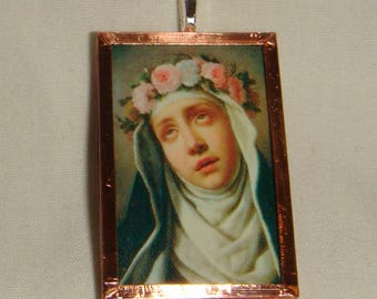 St Rose of Lima Pendant  inv1940