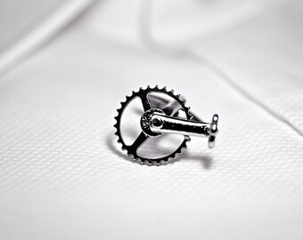Bike Pedal Cufflinks