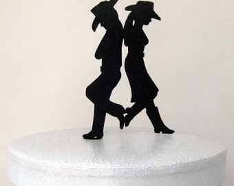 Wedding Cake Topper - Country & Western Wedding