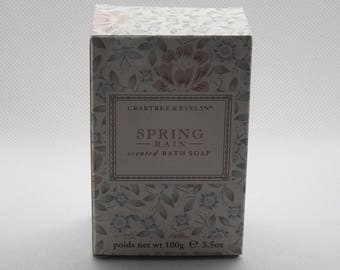 100g Crabtree and Evelyn Spring Rain Soap Bar (now discontinued)