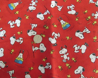Snoopy - Peanuts Cool Joe Red - Dog Bandana