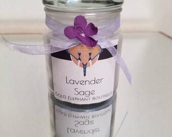 Lavender Sage scented candle