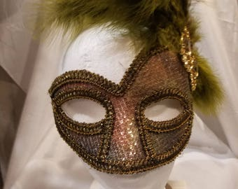 Hand crafted, one of a kind mask