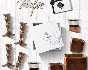 Urban Coppers Luxury Wedding Table Centrepiece Set 8556
