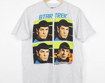 vintage star trek shirt - spock - fascinating - original series