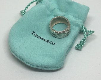 Tiffany & Co Sterling retired wide ring