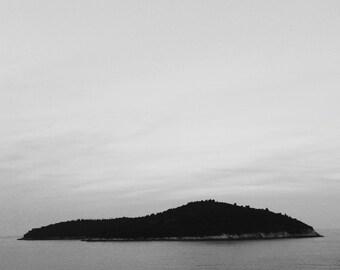 Island off Dubrovnik, Croatia